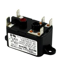 white rodgers 24 volt coil voltage spdt rbm type relay [ 1000 x 1000 Pixel ]