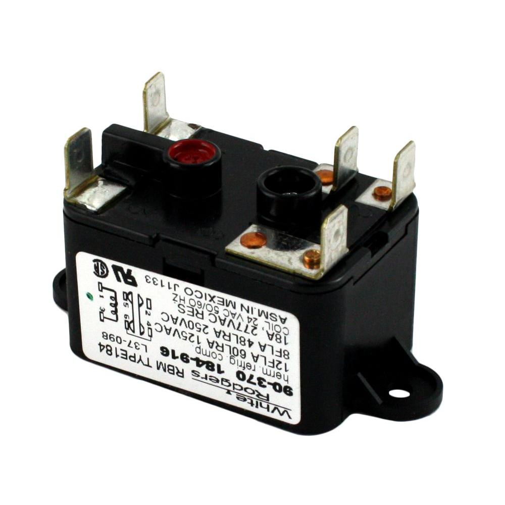 24 volt relay wiring diagram 93 chevy 1500 ignition white rodgers coil voltage spdt rbm type 90 370 the