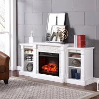Southern Enterprises Nassau 71.75 in. W Infrared Faux ...
