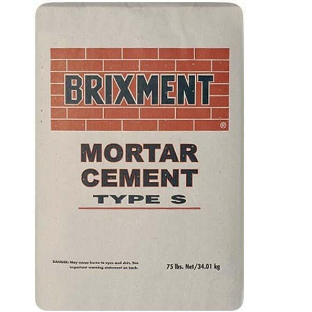 Cemex Type S 75 Lb Brixment Mortar Mix BRIXMENT S The Home Depot