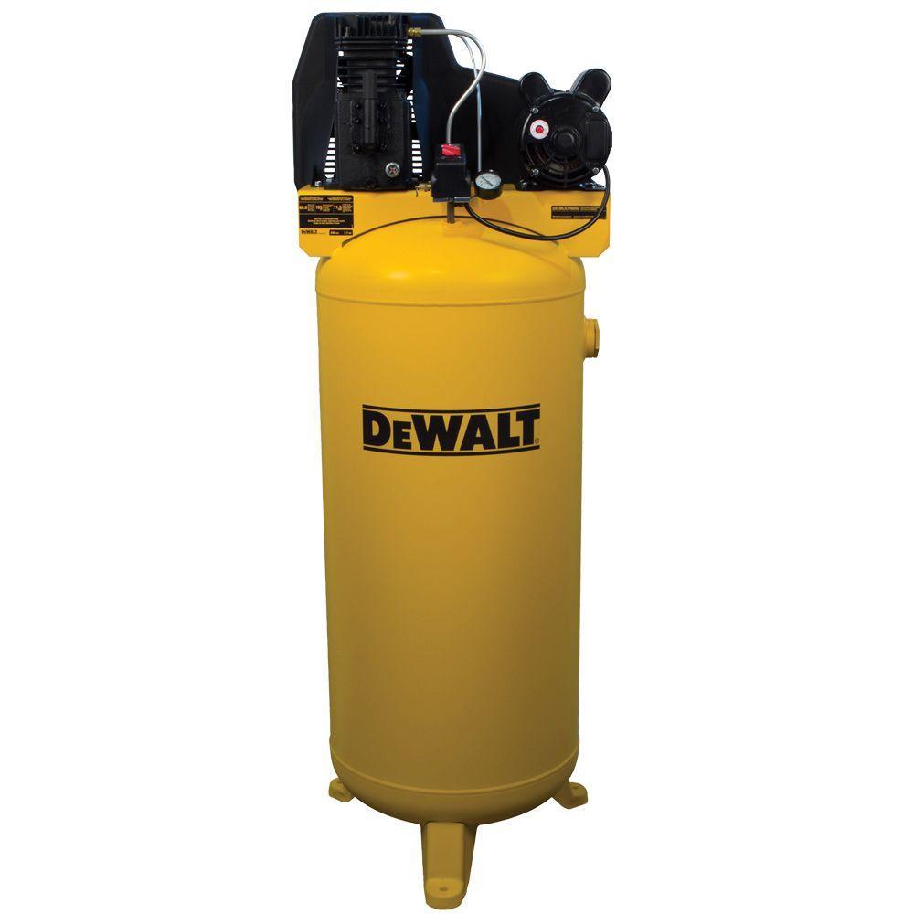 medium resolution of dewalt 60 gal vertical stationary electric air compressor