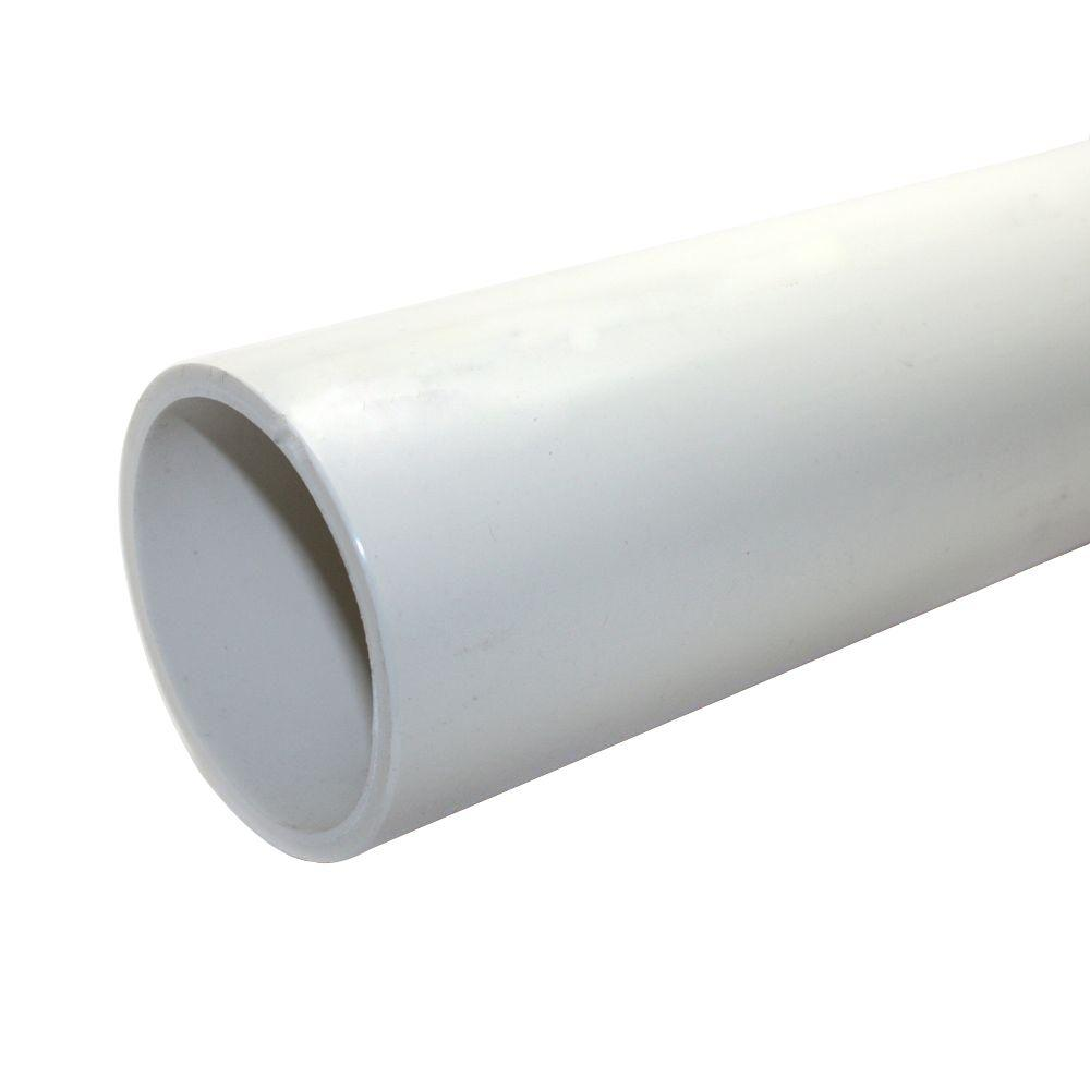 JM eagle 3 in. x 10 ft. PVC Schedule 40 DWV Foamcore Pipe