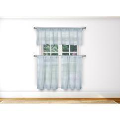 Blue Kitchen Valance Led Ceiling Light Fixtures Duck River Loretta In Aqua 15 W X 58