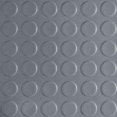 Chair Mat Home Depot Rocking Walmart Garage Flooring The Coin 10 Ft X 24 Slate Grey Commercial Grade Vinyl Cover