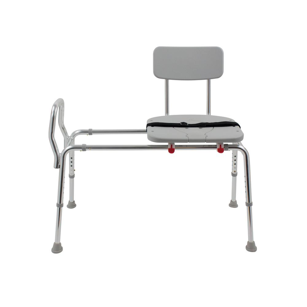 difference between shower chair and tub transfer bench elderly dmi premium 20 5 in w x 40 d adjustable seat