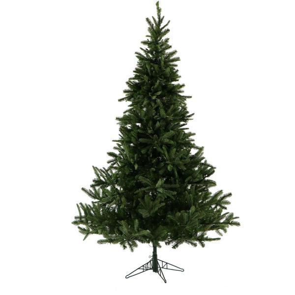 Fraser Hill Farm 12.0 Ft. Unlit Foxtail Pine Artificial Christmas Tree-fffx012-0gr - Home Depot