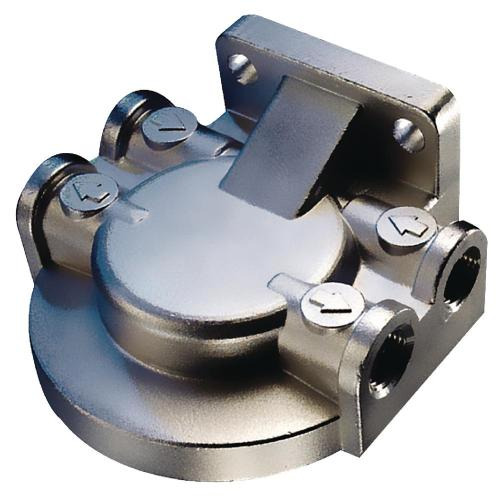 small resolution of seachoice fuel water separating filter bracket stainless steel