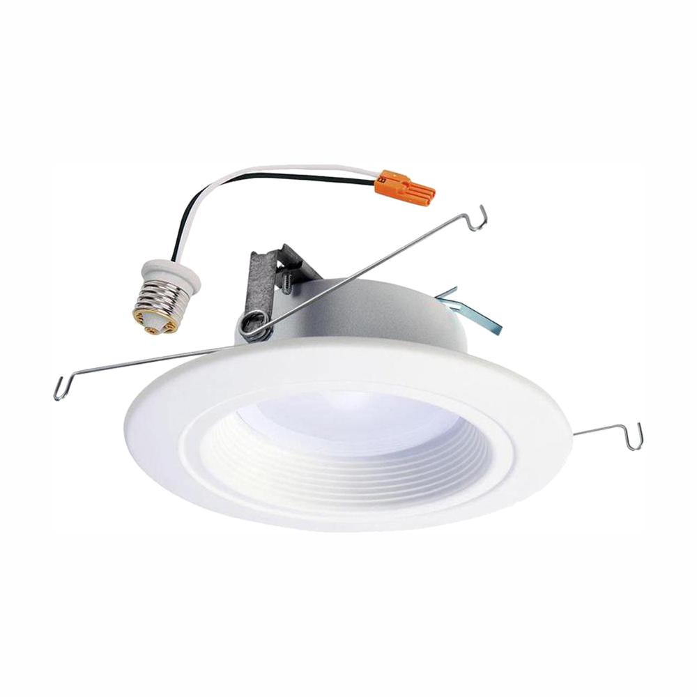 medium resolution of halo rl 5 in and 6 in white integrated led recessed ceiling light ceiling lights no wiring related keywords suggestions ceiling