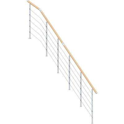 Kit Interior Stair Railings Stair Parts The Home Depot | Home Depot Railings For Steps | Metal | Handirail | Stair Parts | Tuffbilt | Front Porch Railings