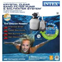 Intex 120-Volt Above Ground Sand Filter Pool Pump and ...