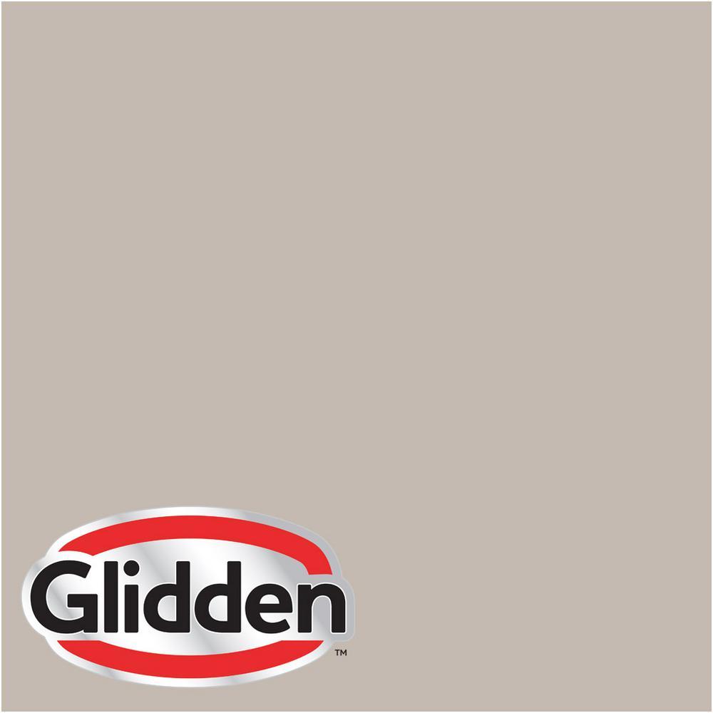 glidden premium 1 gal hdgwn37u dovetail grey flat interior paint with primer