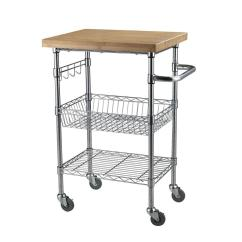 Kitchen Utility Carts Discount Cabinets Sandusky 24 In W Cart Mktbb242036 The Home Depot