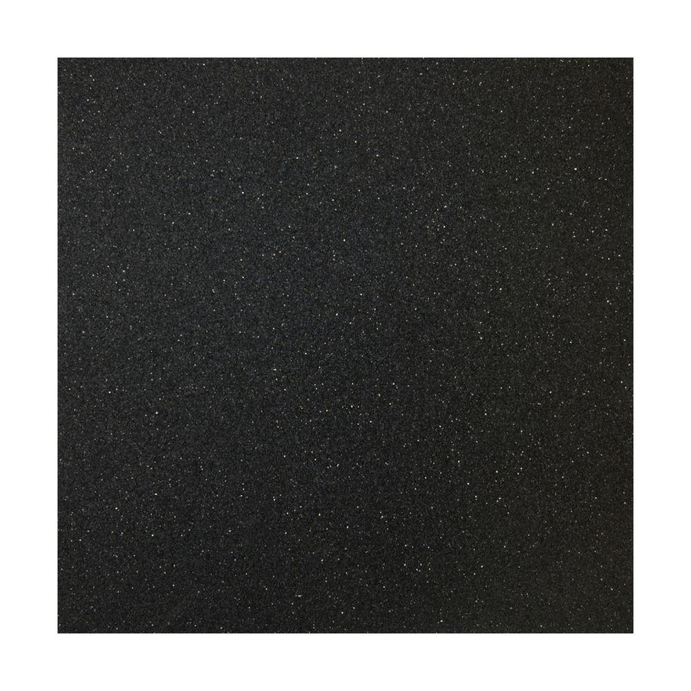 Multy Home 27 in x 10 ft x 5 mm Black Rubber Flooring