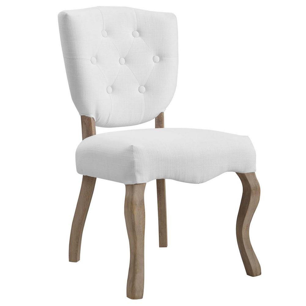 white upholstered chairs best office chair reddit modway array vintage french dining side eei