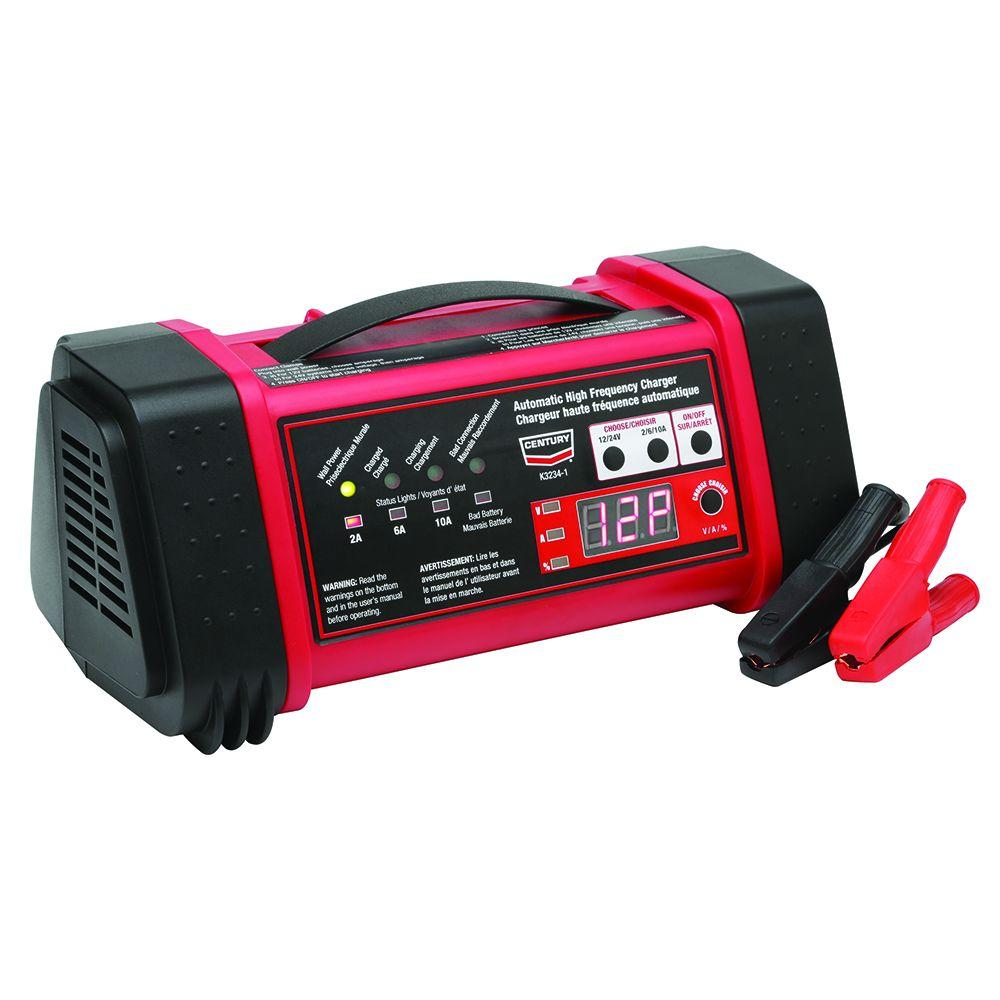 hight resolution of century 12 and 24 volt high frequency battery charger