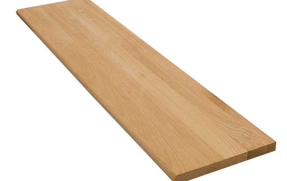 Stairtek 1 In X 11 5 In X 42 In Unfinished Red Oak   Home Depot Hardwood Stair Treads