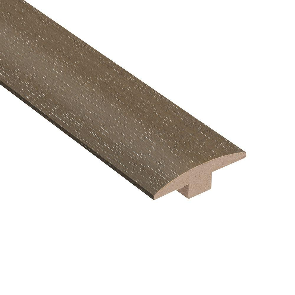 hight resolution of home legend wire brushed hickory grey 3 8 in thick x 2 in wide x 78 in length hardwood t molding hl318tm the home depot