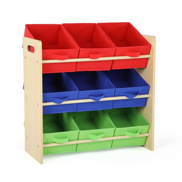Tot Tutors Primary Collection Natural Kids Storage