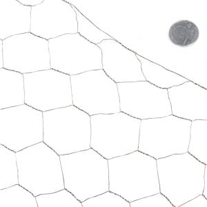 Fencer Wire 3 ft. x 25 ft. 20-Gauge Poultry Netting with 2