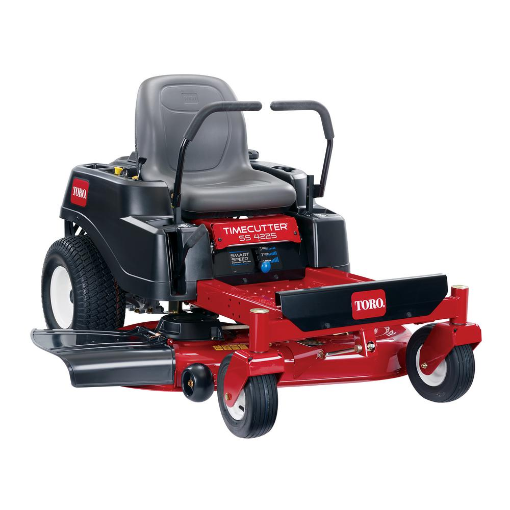 hight resolution of toro timecutter ss4225 42 in 22 5 hp v twin gas dual hydrostatic zero turn riding mower with smart speed