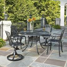 Home Styles Largo 48 In. 5-piece Outdoor Patio Dining Set