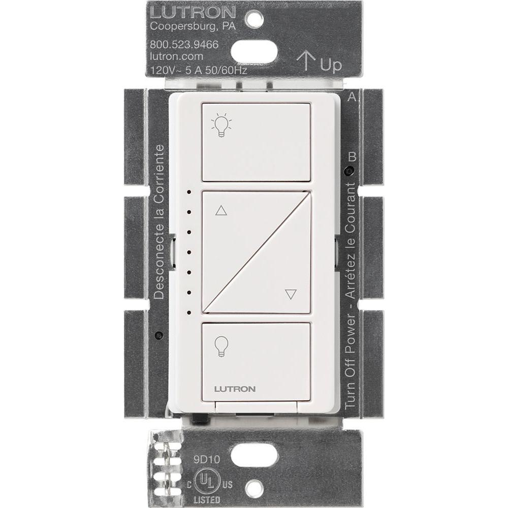 medium resolution of caseta wireless smart lighting dimmer switch for wall and ceiling lights white