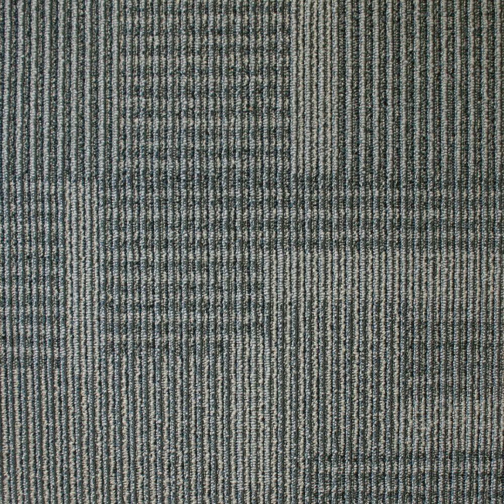 EuroTile Park Avenue Steel Loop 19.7 in. x 19.7 in. Carpet