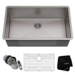 Ss Kitchen Sinks Pull Out Faucet Stainless Steel The Home Depot 16 Gauge Undermount Single Bowl Sink