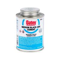 Oatey 8 oz. ABS Cement in Black