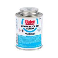 Oatey 8 oz. ABS Cement in Black