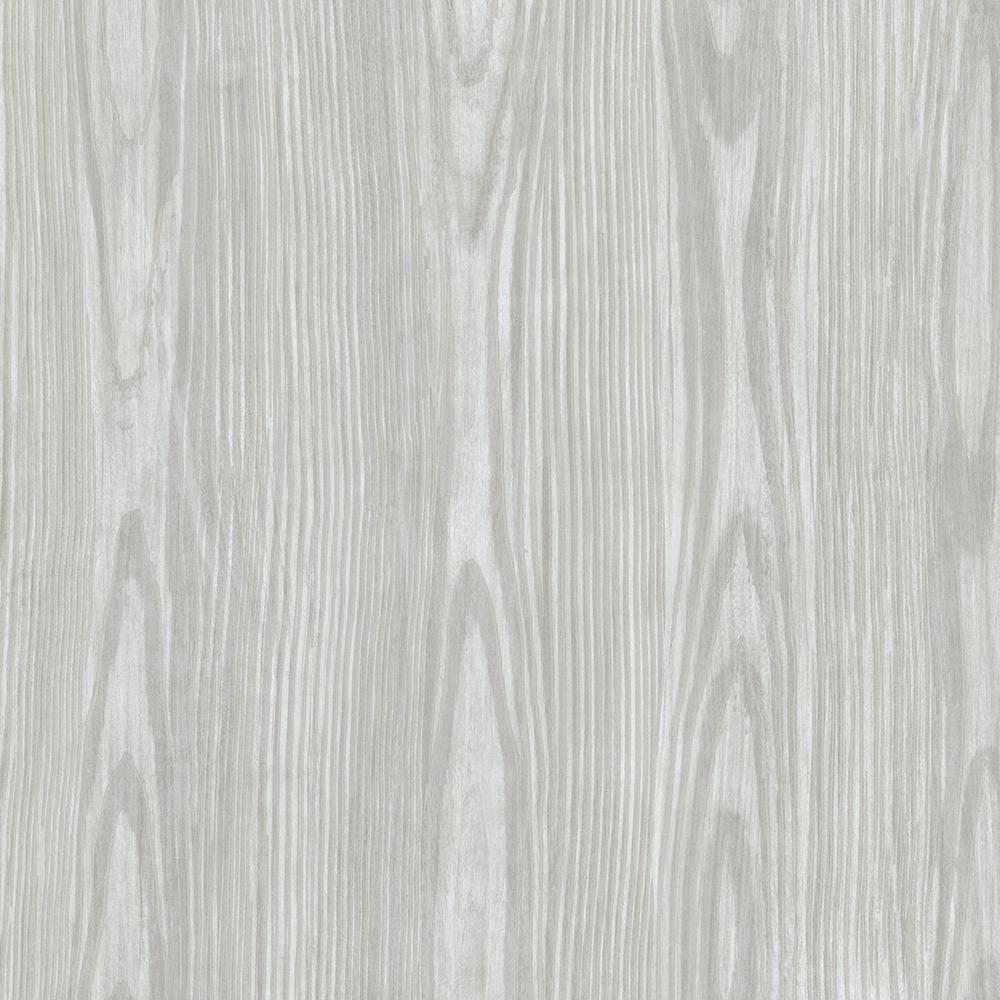 Brewster Blue Tanice Faux Wood Texture Wallpaper Sample