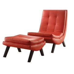 Red Lounge Chair Gloster Dansk Ave Six Tustin And Ottoman Set Tsn51 U9 The Home
