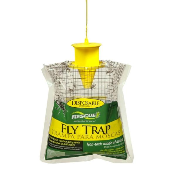 Rescue Disposable Fly Trap-ftd-db12 - Home Depot