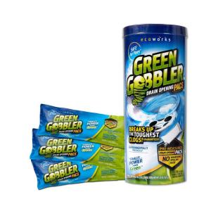 Green Gobbler 825 Oz Draining Opening Pacs 3 Count