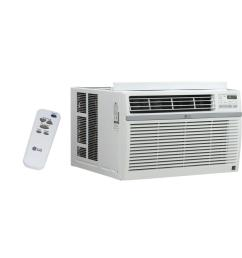 24 500 btu window air conditioner with remote [ 1000 x 1000 Pixel ]