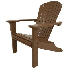Poly Wood Adirondack Chairs Ninja Turtles Chair Polywood Seashell Teak Plastic Patio Sh22te The