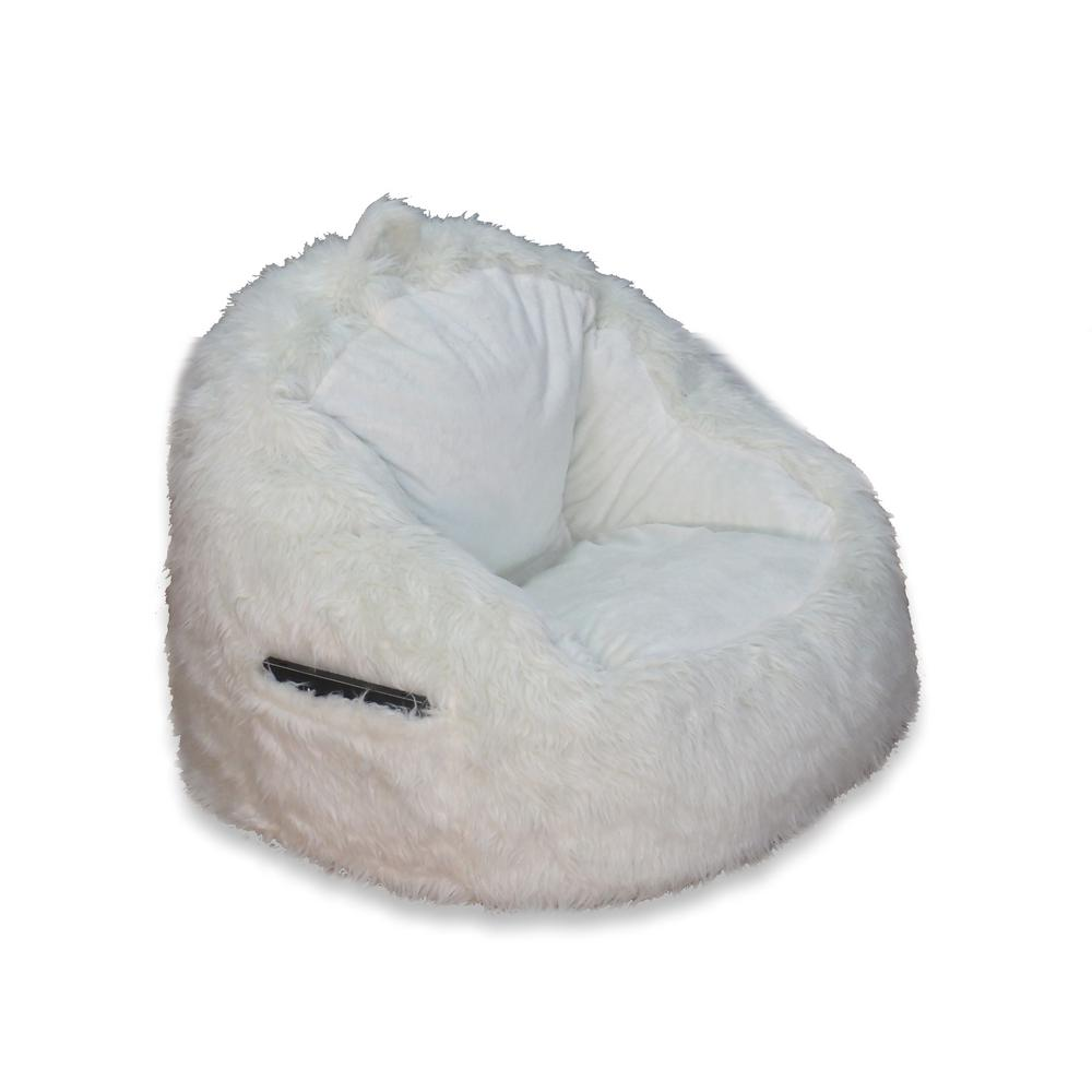bing bag chairs desk chair heavy duty bean the home depot cream fur structured