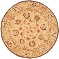 Safavieh Anatolia Ivory/Beige 4 ft. x 4 ft. Round Area Rug ...