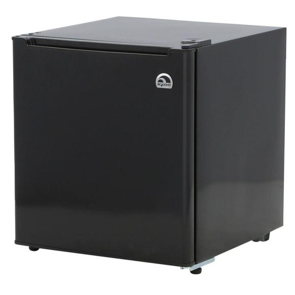 Igloo 1.7 Cu. Ft. Mini Refrigerator In Black-fr100-black - Home Depot