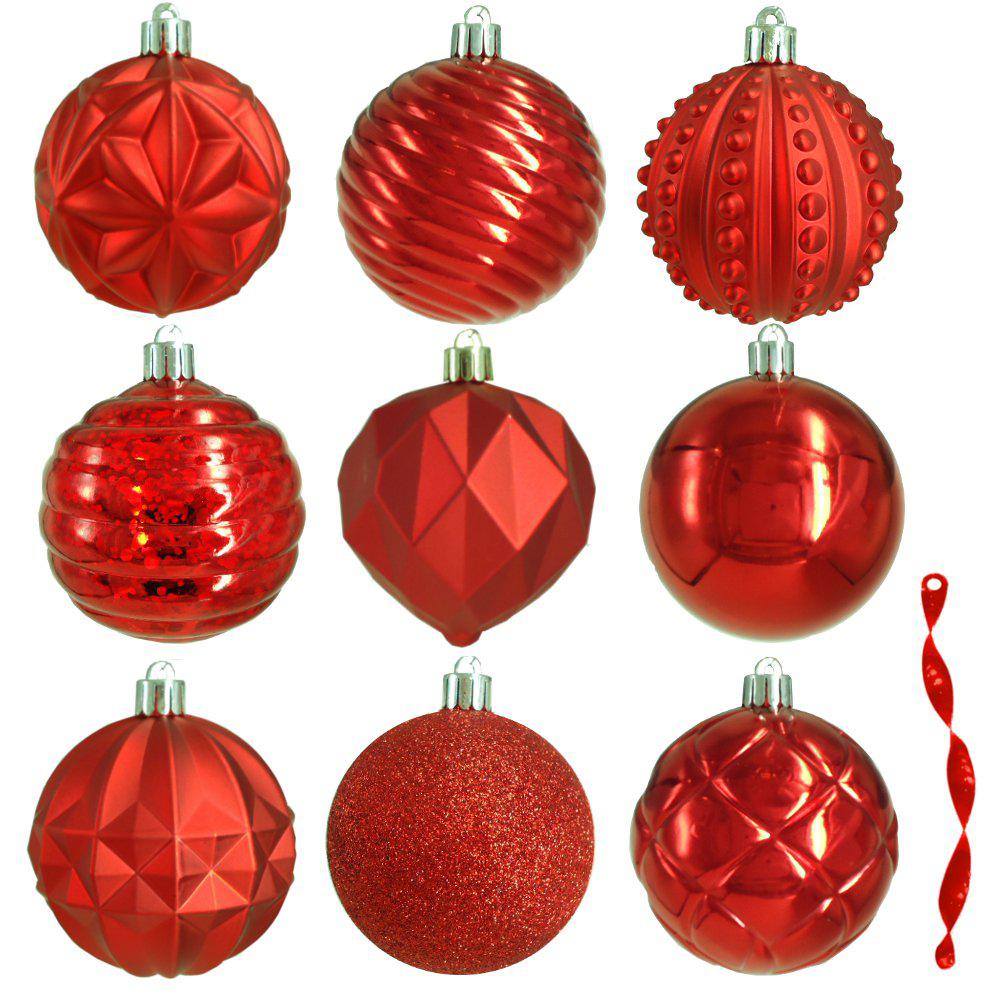 Decorated Christmas Ornaments