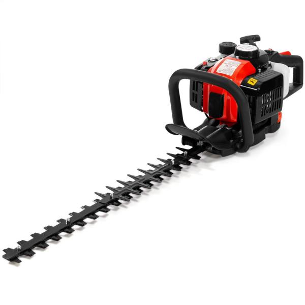 Xtremepowerus 24 In. 25.4 Cc Gas 2-stroke Cycle Hedge Trimmer-81066 - Home Depot