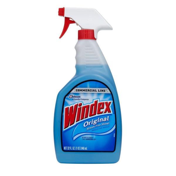 Windex 32 oz Commercial Line Original Powerized Glass