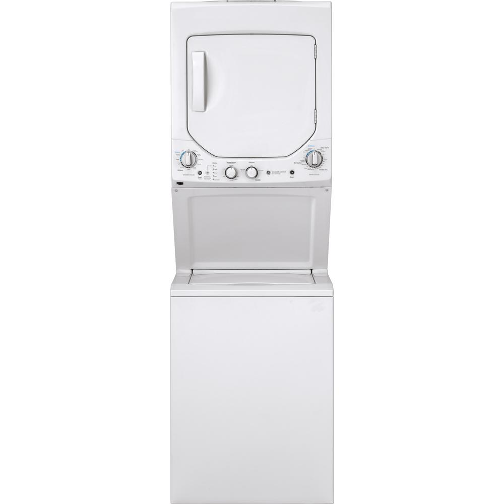hight resolution of white laundry center with 2 3 cu ft washer and 4 4 cu ft 240 volt vented electric dryer