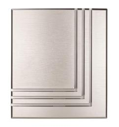 hampton bay wireless or wired door bell brushed nickel [ 1000 x 1000 Pixel ]