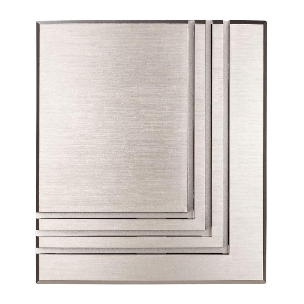 medium resolution of hampton bay wireless or wired door bell brushed nickel