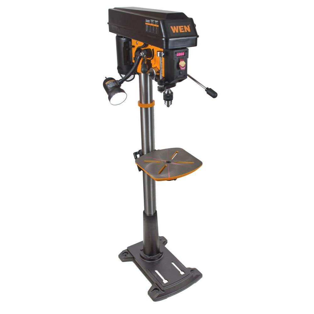 WEN 86 Amp 15 in Floor Standing Drill Press with