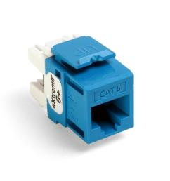 leviton quickport extreme cat 6 connector with t568a b wiring blue [ 1000 x 1000 Pixel ]