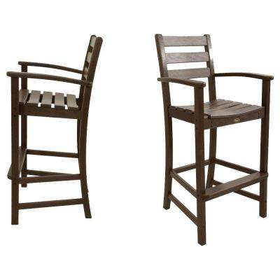 outdoor bar chairs extra wide chair plastic stools furniture the home depot monterey bay vintage lantern 2 piece patio set