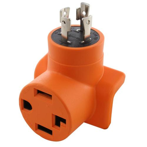 small resolution of ac works generator to dryer ev adapter 30 amp 4 prong l14 30p 30 amp 4 prong generator plug wiring