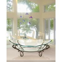 Decorative Bowl and Metal Stand in Wrought Iron-72292 ...